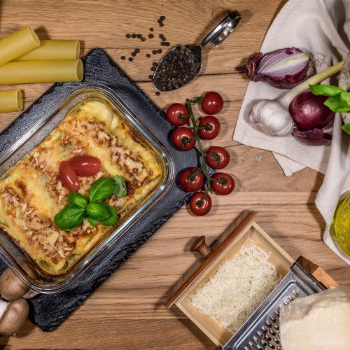 Vegetarisches Cannelloni Duett