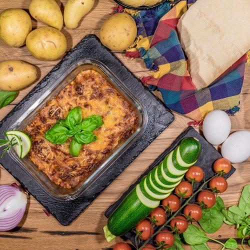 Provenzalischer Zucchini Auflauf